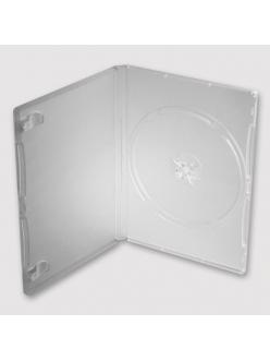 Бокс на  1 DVD  9mm (прозрачный-глянцевый) 2000089790012