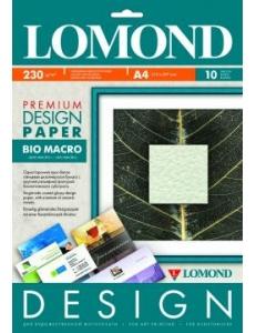 """Дизайн-бумага """"Био Макро"""" матовая 230 г/м2 (10л) LOMOND 935041"""