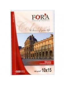Фотобумага (10х15, 180г, 500л.) глянцевая 1стор. FORA FR-G18010500