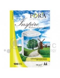 Бумага сублимационная (100л.100г/м,А4) FORA FR-SUB1004100