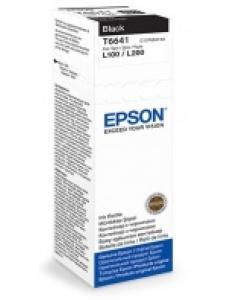 Картридж EPSON (C13T66414A) для L100/L200 Black 70мл (о) T66414A