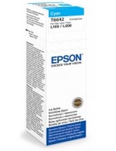 Картридж EPSON (C13T66424A) для L100/L200 Cyan 70мл (о) T66424A