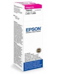 Картридж EPSON (C13T66434A) для L100/L200 Magenta 70мл (о) T66434A