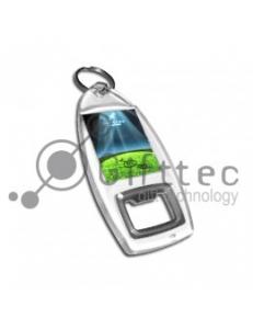 Открывалка под полиграфическую вставку 33x41мм (упаковка 25шт) BO-005