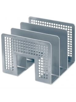 """Лоток-сортер для бумаг вертикальный (3секции) серый <10480> """"Erich Krause"""" 068154"""