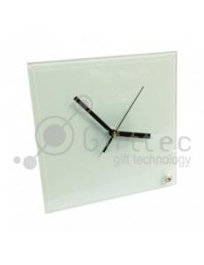 Часы стеклянные квадратные 20х20см SC26 10529