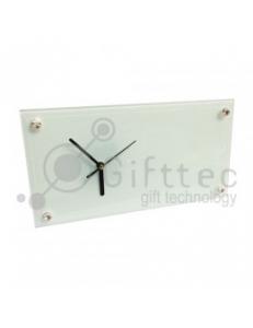 Часы стеклянные прямоуголные 30х16см SC28 10531