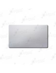 Бейдж 70х40мм без окна (серебро глянец SU23), под сублимацию, упаковка 10шт 11642