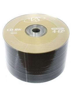 CD-RW VS 700MB 80мин.4-12x тех.уп.(50шт.)в пленке 2000071500018