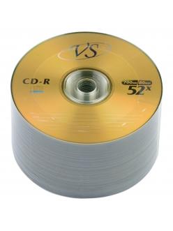CD-R VS 700MB 80мин.52x тех.уп. (50шт.)в пленке 2000079920016