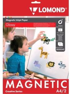 """Бумага магнитная """"Magnetic"""" глянцевая А4 660г/м2 (2л.) LOMOND 2020345"""