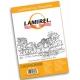 Пленка для ламинирования А7 (125мк) глянц./100л. 75х105мм <LA-7866301> LAMIREL LA-7866301