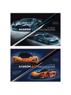 """Альбом для рисования А4, 24л. на скрепке """"Авто. Extreme racing"""" <А24_26212> """"ArtSpace"""" 280645"""