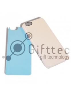IPhone 6 - Белый чехол пластиковый (вставка под сублимацию) 11091