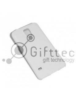 Samsung S5 - Белый чехол матовый пластик (для 3D-машины вакуумной) 11094