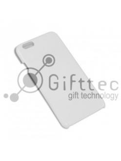 IPhone 6 PLUS - Белый чехол глянцевый пластик (для 3D-машины вакуумной) 11150