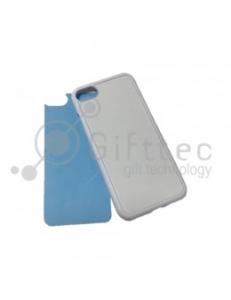 IPhone 7 - Белый чехол силиконовый (вставка под сублимацию) 11181