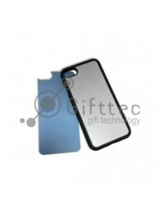 IPhone 7 - Черный чехол силиконовый (вставка под сублимацию) 11197