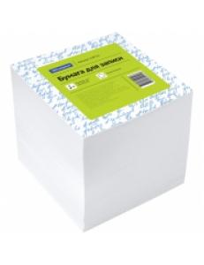 """Блок для записей 90х90х90мм 1000л. белый <КБ9-10 Бн> """"Спейс"""" 159721"""