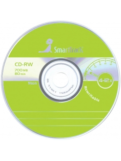 CD-RW SmartTrack 700MB 80мин.12x без уп. 2000018720011