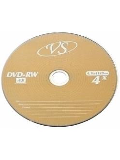 DVD+RW VS 4.7Gb 4x без уп. 2000035190019