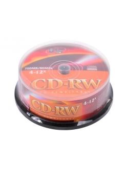 CD-RW VS 700MB 80мин.4-12x тех.уп. (25шт.) 4607147620243