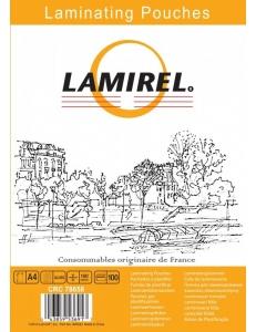 Пленка для ламинирования А4 (100мк) глянц./100л. LAMIREL LA-7865801
