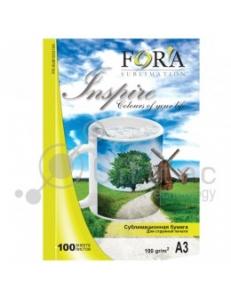 Бумага сублимационная (100л.100г/м,А3) FORA FR-SUB1003100